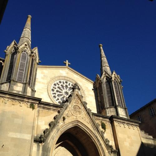 Eglise Saint Pons, Sommières (10 janvier 2015)
