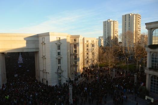 #JeSuisCharlie, Rassemblement Place du Nombre d'Or, Montpellier (11 janvier 2015)